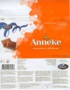 Anneke, milk chocolate, 100g, 17.12.2007, AS Kalev Chocolate Factory, Lehmja, Estonia
