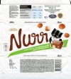 Nurr,  whole milk chocolate with hazelnuts, 50g, 16.05.2011, AS Kalev Chocolate Factory , Lehmja, Estonia