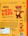 Mesikapp, milk chocolate with wafer, 300g, 27.05.2013, AS Kalev Chocolate Factory, Lehmja, Estonia