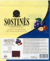 Sostinec, milk chocolate with raisins and nuts, 100g, 12.2003