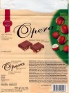 Opera, milk chocolate with nuts, 100g, 13.06.2004