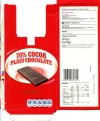 70% cocoa plain chocolate, 5x25g individually wrapped bars, 125g, 19.04.2011, Produced in Germany for Tesco Ltd, Chesunt